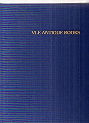 FROM THE 16TH CENTURY TO THE 20TH: VLE Antique Books