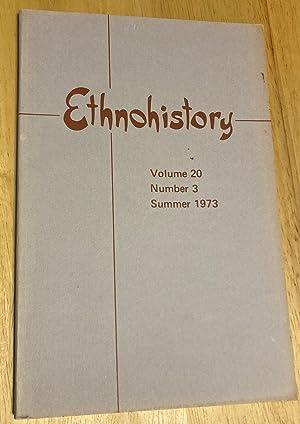 ETHNOHISTORY VOLUME 20 NUMBER 3 SUMMER 1973: Hinton, Thomas B.