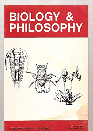 BIOLOGY & PHILOSOPHY VOLUME 12 NO. 3: Biology & Phiosophy)