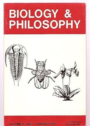 BIOLOGY & PHILOSOPHY VOLUME 12 NO. 1: Biology & Phiosophy)
