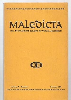 Maledicta: the International Journal of Verbal Aggression: Maledicta) Aman, Reinhold