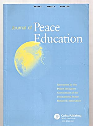 JOURNAL OF PEACE EDUCATION VOLUME 2 NUMBER: Journal of Peace