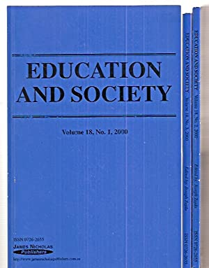 EDUCATION AND SOCIETY: INTERNATIONAL JOURNAL IN EDUCATION: Education and Society)