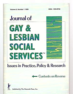 JOURNAL OF GAY & LESBIAN SOCIAL SERVICES: Journal of Gay