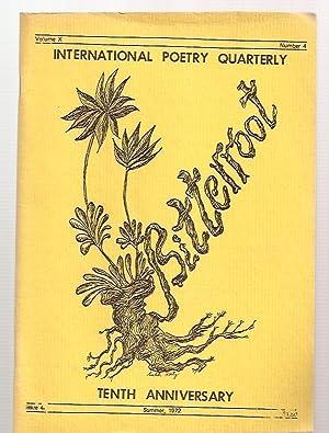 BITTERROOT: INTERNATIONAL POETRY QUARTERLY TENTH ANNIVERSARY VOLUME: Bitterroot) Katz, Menke