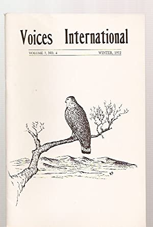 VOICES INTERNATIONAL: AN INTERNATIONAL LITERARY QUARTERLY VOLUME: Voices International) Rice,