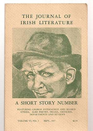 THE JOURNAL OF IRISH LITERATURE SEPTEMBER 1977: The Journal of