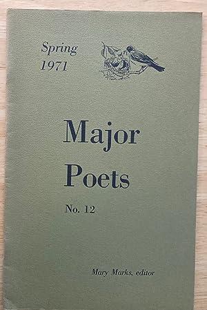 MAJOR POETS NO. 12 SPRING 1971: Major Poets) Marks,
