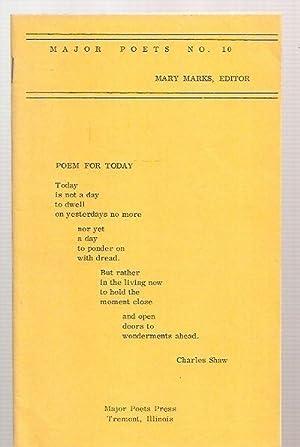 MAJOR POETS NO. 10: Major Poets) Marks,