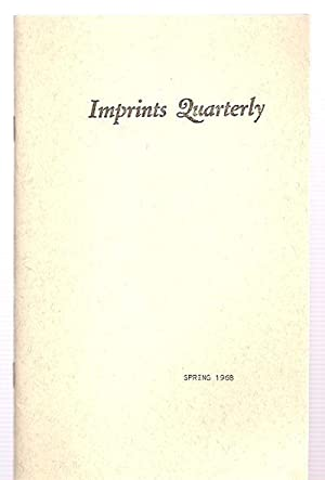 Imprints Quarterly Spring 1968 Vol. II No.: Imprints Quarterly) Latta,