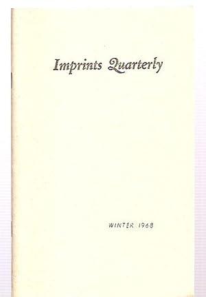 Imprints Quarterly Winter 1968 Vol. II No.: Imprints Quarterly) Latta,