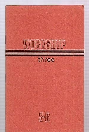 WORKSHOP [THREE] SUMMER 1968: Workshop) Hidden, Norman