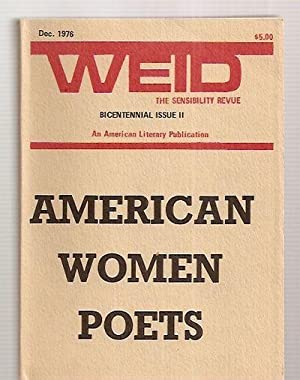 WEID: THE SENSIBILITY REVUE: AN AMERICAN LITERARY: Weid) Smith, D.