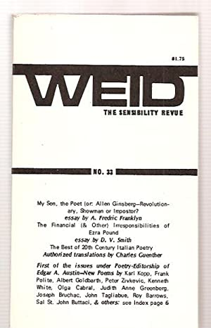 Weid: the Sensibility Revue Volume VIII Number: Weid) Smith, D.