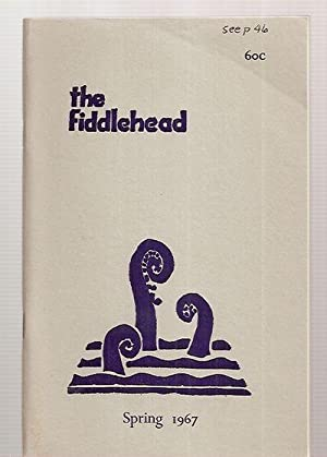 THE FIDDLEHEAD: A QUARTERLY OF PROSE AND: The Fiddlehead) Thompson,