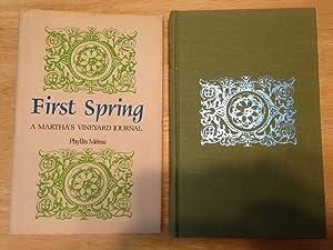FIRST SPRING: A MARTHA'S VINEYARD JOURNAL: Meras, Phyllis [drawings