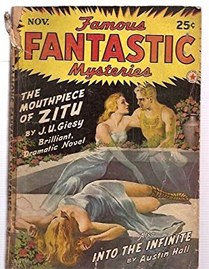 FAMOUS FANTASTIC MYSTERIES COMBINED WITH FANTASTIC NOVELS MAGAZINE NOVEMBER 1942 VOL. V NO. 1: ...