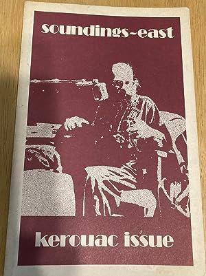SOUNDINGS / EAST KEROUAC ISSUE VOLUME 2,: Soundings / East)