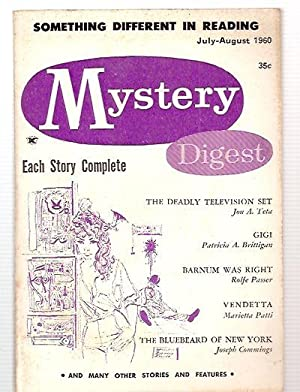 Mystery Digest Vol. 4 No. 4 July-August 1960