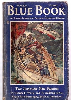 Blue Book Magazine for February 1935 Including: Blue Book Magazine)