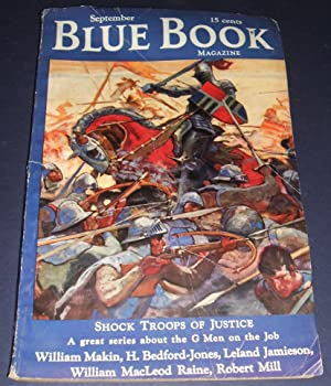 BLUE BOOK [BLUEBOOK] MAGAZINE SEPTEMBER 1935 VOL. 61, NO. 5