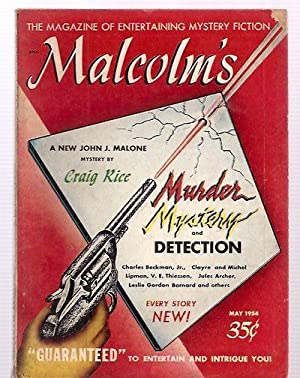 MALCOLM'S: A MAGAZINE OF ENTERTAINING MYSTERY FICTION: Malcolm's) [Ruth Maness,