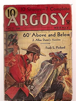 ARGOSY OCTOBER 28, 1933 VOLUME 242 NUMBER: Argosy) [cover by