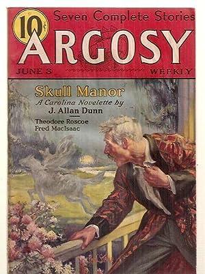 ARGOSY JUNE 3, 1933 VOLUME 238 NUMBER: Argosy) [cover by