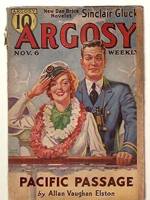 ARGOSY NOVEMBER 6, 1937 VOLUME 277 NUMBER: Argosy) [Allan Vaughan