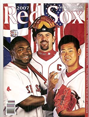 2007 RED SOX OFFICIAL YEARBOOK: Boston Red Sox) [Rick Dunfey, publisher /executive editor] [cover ...