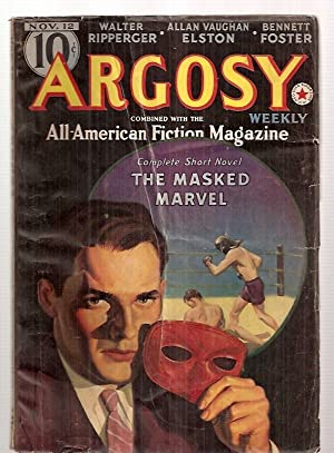 ARGOSY NOVEMBER 12, 1938 VOLUME 286 NUMBER 1