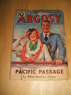 Argosy November 6, 1937 Volume 277 Number: Argosy) [cover art