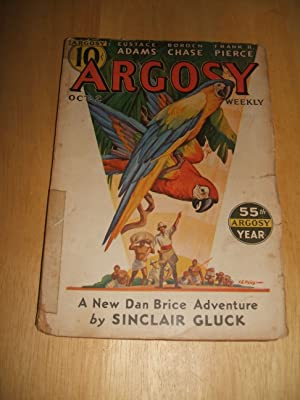 Argosy October 2, 1937 Volume 276 Number: Argosy) [cover art