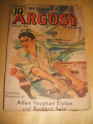 ARGOSY JULY 24, 1937 VOLUME 274 NUMBER: Argosy) [cover art
