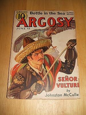 ARGOSY JUNE 12, 1937 VOLUME 273 NUMBER: Argosy) [cover art