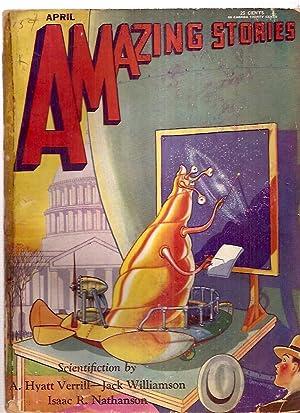 Amazing Stories April 1930 Vol. 5 No.: Amazing Stories) [T.