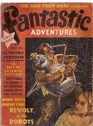 Fantastic Adventures May 1939 Volume 1 Number: Fantastic Adventures) [cover
