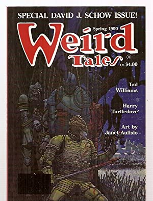 WEIRD TALES: THE UNIQUE MAGAZINE SPRING 1990: Weird Tales) [David