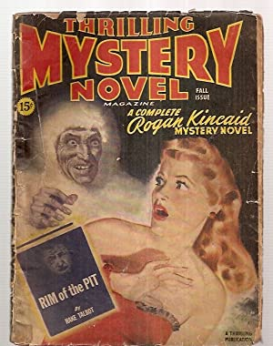 THRILLING MYSTERY NOVEL MAGAZINE FALL 1945 ISSUE: Thrilling Mystery Novel