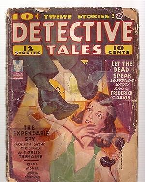 DETECTIVE TALES JANUARY 1944 VOL. TWENTY-SIX NUMBER: Detective Tales) [Frederick