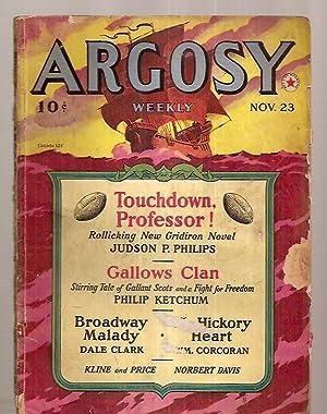 ARGOSY NOVEMBER 23, 1940 VOLUME 303 NUMBER: Argosy) [Judson P.