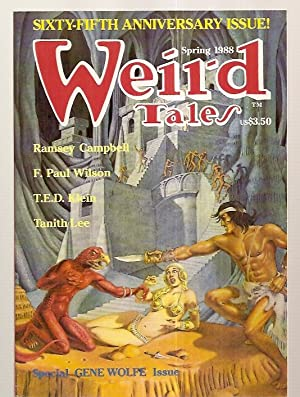Weird Tales: the Unique Magazine Spring 1988: Weird Tales) [Gene
