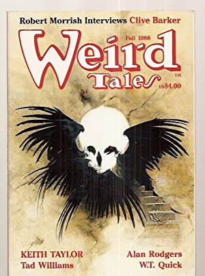 WEIRD TALES: THE UNIQUE MAGAZINE FALL 1988: Weird Tales) [Keith