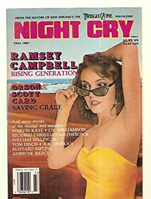 NIGHT CRY: THE MAGAZINE OF TERROR FALL: Night Cry) [introduction