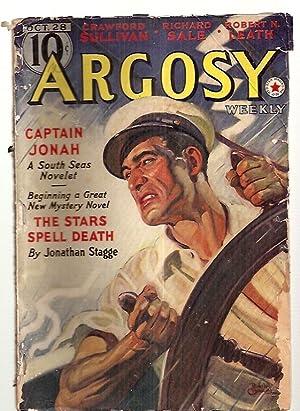 ARGOSY OCTOBER 28, 1939 VOLUME 294 NUMBER: Argosy) [cover by