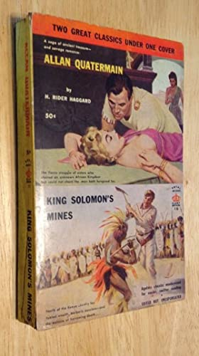 "KING SOLOMON""S MINES + ALLAN QUATERMAIN: Haggard, H. Rider"
