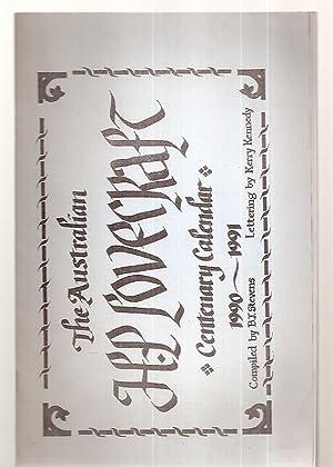 THE AUSTRALIAN H. P. LOVECRAFT CENTENARY CALENDAR: Lovecraft, H. P.)