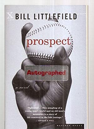 PROSPECT [A NOVEL]: Littlefield, Bill [cover