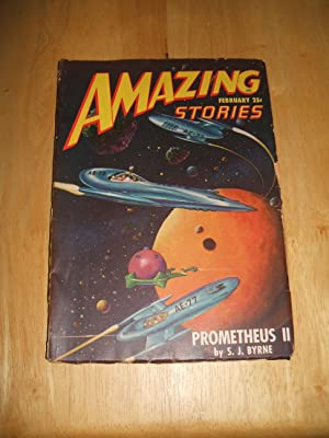 AMAZING STORIES FEBRUARY 1948 VOLUME 22 NUMBER: Amazing Stories) [cover