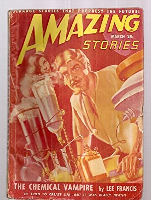 AMAZING STORIES MARCH 1949 VOLUME 23 NUMBER: Amazing Stories) [cover